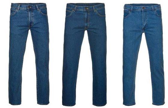Wrangler Denim Freizeit Herren Jeans