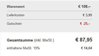 Rohe Merana Allround Topf Set 4tlg. für 87,95€ dank neuen XXXL Shop 25€ Gutschein (100€ MBW)