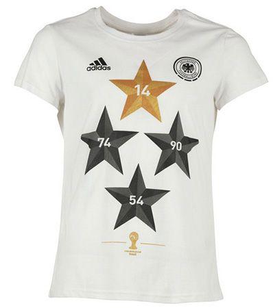 adidas Damen DFB Deutschland World Cup Winner T Shirt für 11,94€