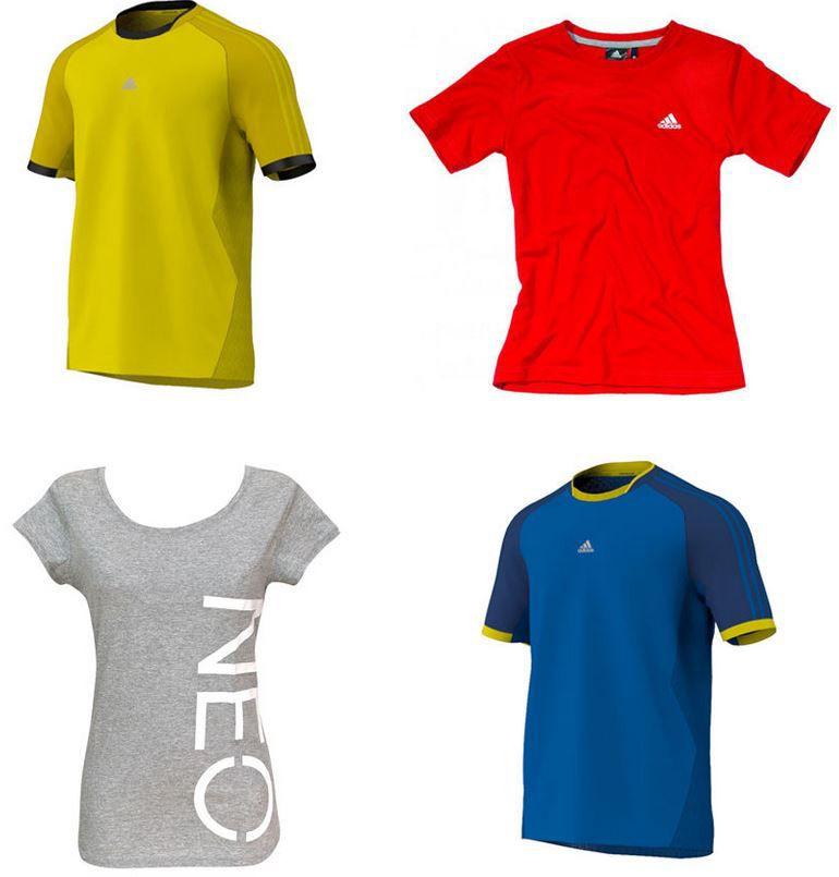 adidas Damen Sport Shirts für je nur 14,95€