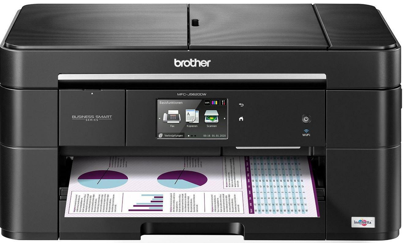 Brother MFC J5620DW   4 in 1 WLAN Tintenstrahl Multifunktionsdrucker für 119€