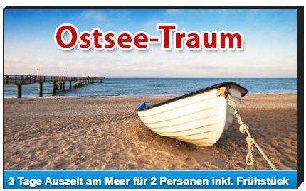 ostseeurlaub Haffidyll Hotel in Rerik an der Ostsee: 2 Übernachtungen für 2 Personen nur 79€!