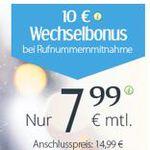 winSIM LTE M mit Telefonie und SMS Flat + 2GB Daten für 7,99€ mtl.