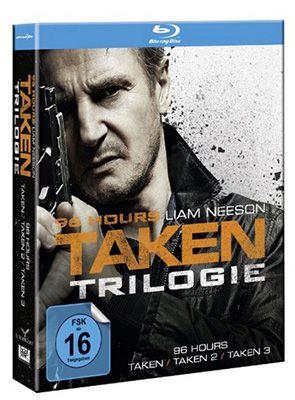 96 Hours Taken Trilogie 96 Hours   Taken Trilogie auf Blu ray ab 19,99€