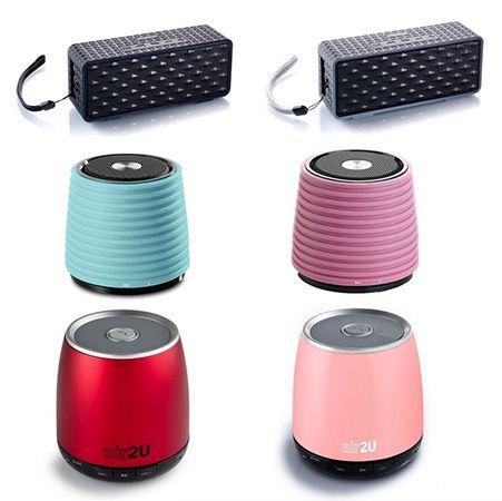 Aiptek Air2U Lautsprecher Aiptek Air2U E20/E12/E10 Bluetooth Lautsprecher für je 12,95€
