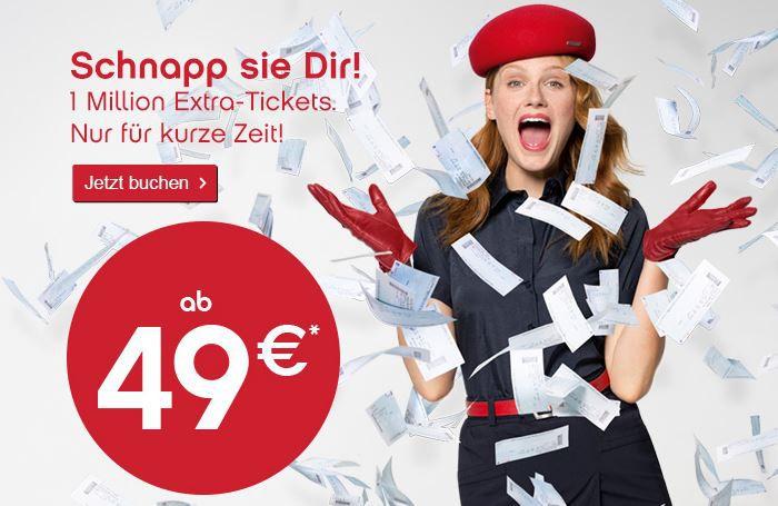Air Berlin   ab sofort mit 100.000 Spartickets ab 49€ und günstige Fernziele wie Sri Lanka ab 499€