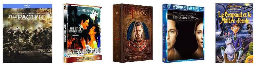 25€ Rabatt ab 50€ oder 50€ Rabatt ab 100€ Einkaufswert bei DVDs und Blu rays @Amazon.fr