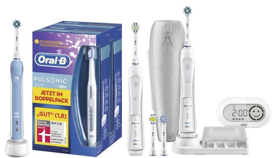 Oral B PRO 6500 eZahnbürste (mit Bluetooth & 2. Handstück) statt 126€ für 89,24€ @Amazon Tagesangeboten!