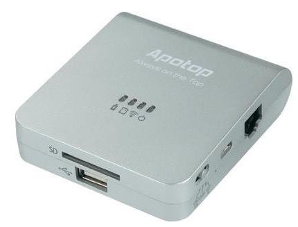 Apotop Wi Reader Pro WLAN Datenleser mit Powerbank für 15,94€