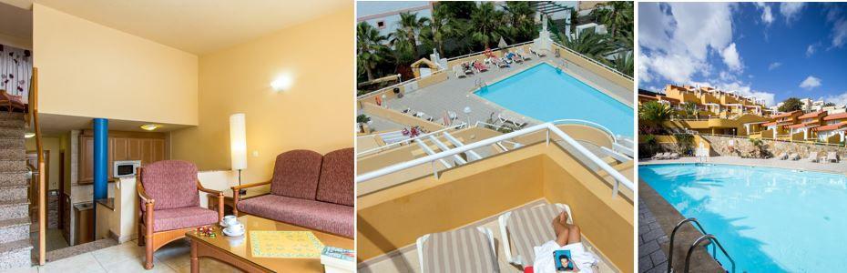 Fuerteventura Flug mit einer Woche in 3* Anlage Appartements Punta Marina ab 341€