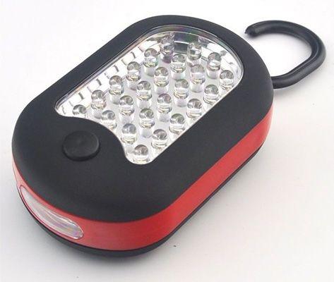 Arbeitslampe mit 27 LED Lampen, Haken und Magnet für 4,21€   China Gadget!