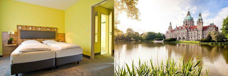 1   2 ÜN in Hannover im 3* Hotel mit Frühstück, Sauna & Zoo Eintritt ab 55€ p.P.