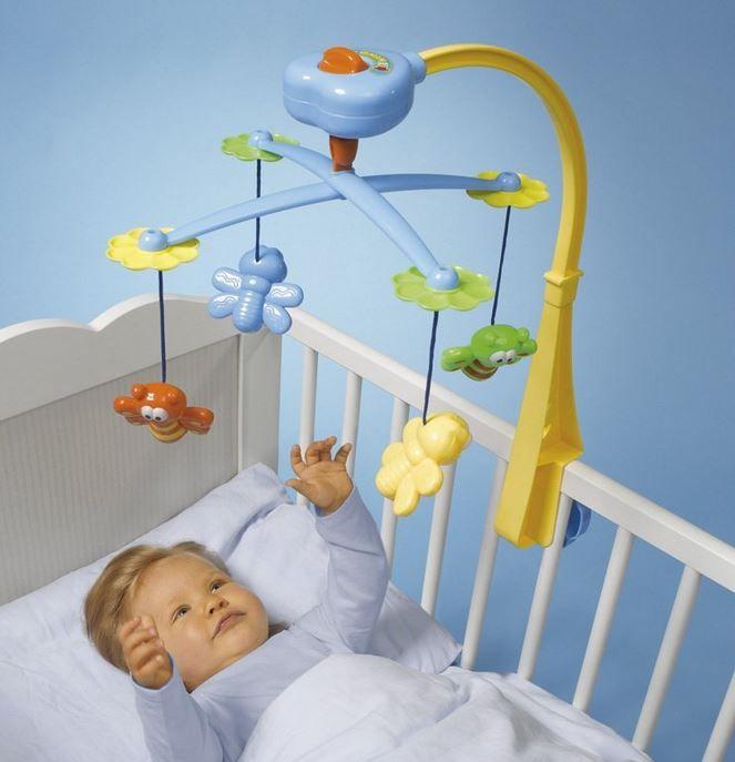 Simba 104019588    50 cm hohes Mobile mit Bett Befestigung ab nur 11€