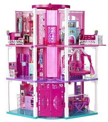 TOP! Barbie 3 stöckige Traumvilla für 99,98€ (Preisvergleich 197€)