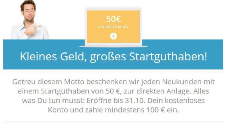 Cashboard   50€ Startguthaben + 50€ Amazon Gutschein für die gratis Eröffnung + 2% Zinsen