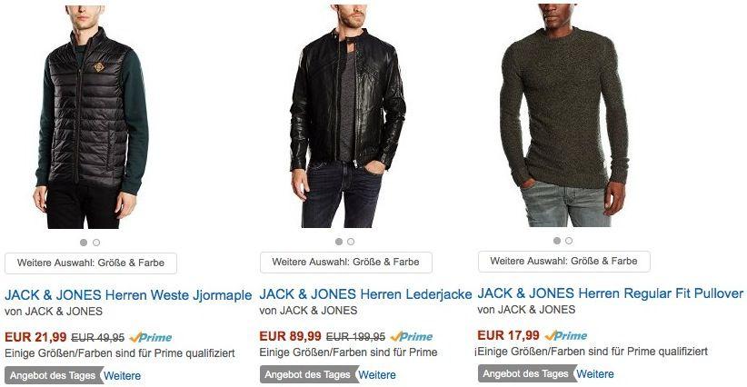 Jack & Jones Artikel mit bis zu 55% Rabatt bei Amazon   z.B. T Shirts ab 6,28€