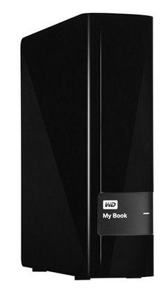 Western Digital My Book 4TB   externe 3,5 Zoll Festplatte, USB 3.0 für 124,99€