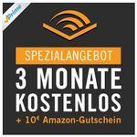 Knaller! 3 Monate Audible gratis für Amazon Prime Kunden