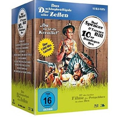Bud Spencer & Terence Hill   Haudegen Blu ray Box für 38,65€ (statt 48€)