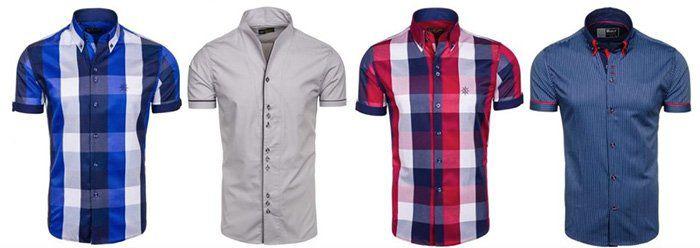 Bolf   Herren kurzarm Sommerhemden verschiedene Modelle bis Größe 2XL für je 16,95€