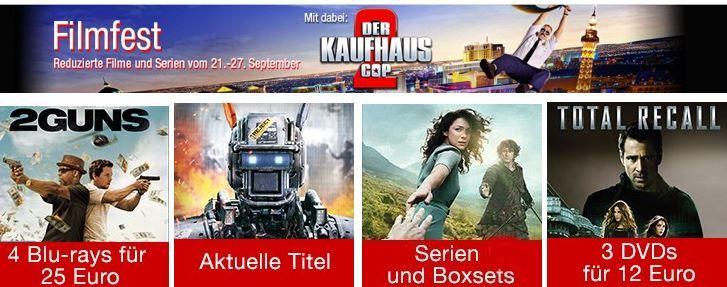 Blu ray Angebote Filmfest   Eine Woche reduzierte Filme & Serien @ Amazon