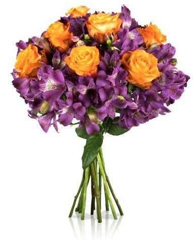 Blumenstrauß Jasmin mit bunten Blüten für 16,90€