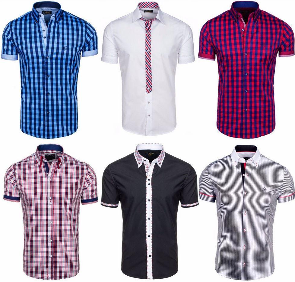 Bolf Bolf   Herren kurzarm Sommerhemden verschiedene Modelle bis Größe 2XL für je 18,50€