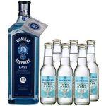 Bombay Sapphire East Gin (1 L) + 6x Fever-Tree Mediterranean Tonic für 33€ (statt 41€)