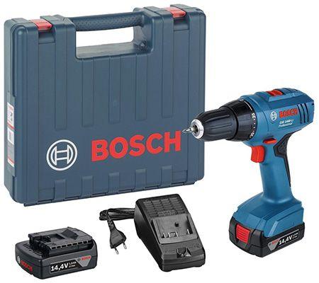 Bosch GSR 1440 Li Akkubohrschrauber mit 2x 1,5Ah Akkus für 89,99€