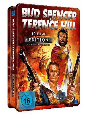 10 Filme von Bud Spencer & Terence Hill in einer DVD Metallbox für 14,98€