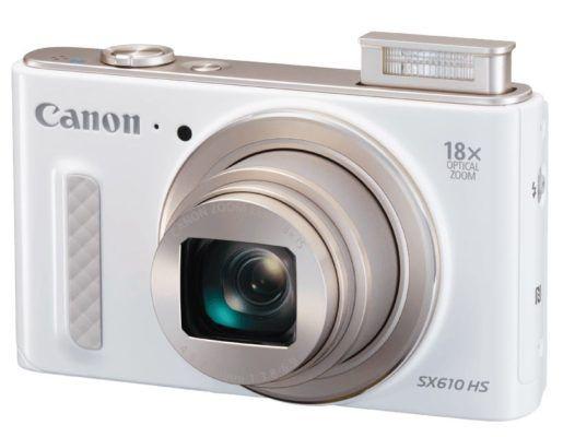 Canon PowerShot SX610 HS Kompaktkamera statt 182 für nur 137€