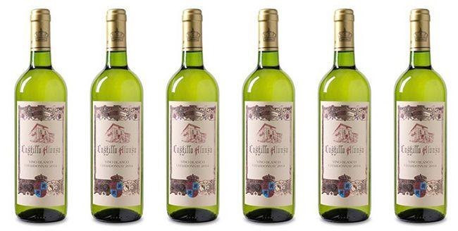 6 Flaschen Castillo Alonso Chardonnay Weißwein für 22,89€
