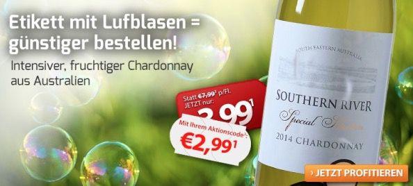 Tipp! 6 Flaschen Southern River Chardonnay für 22,89€