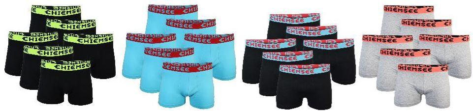 Chiemsee Chiemsee Herren Boxershorts im 6er Pack für nur 24,95€