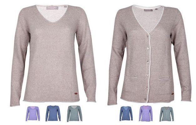 Christian Berg Damen Pullover oder Cardigan mit V Ausschnitt für je 11€