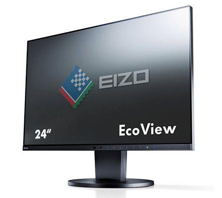 EIZO FlexScan EV2455 BK   24 Zoll Monitor mit IPS Panel und Pivot für 333€