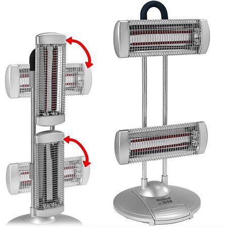 Einhell HH 1600 Halogenheizer 1600 Watt mit 2 Heizstufen für 39,99€