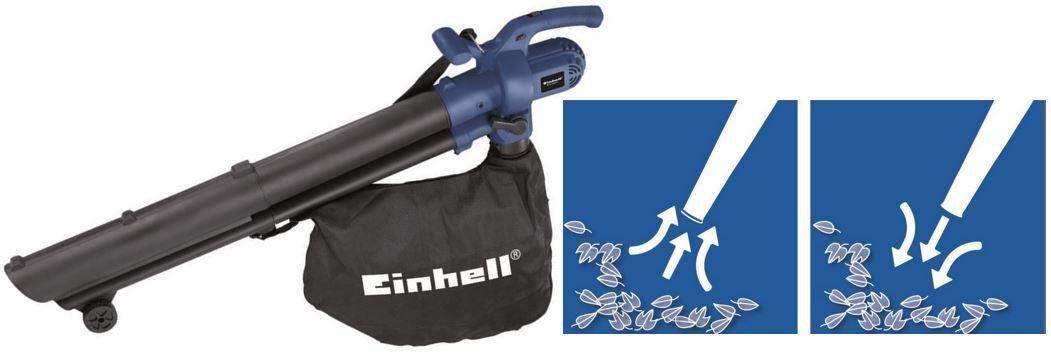 EINHELL  BG EL 2500/2 E   Elektro Laubsauger und Bläser mit 2.500 Watt für nur 29,95€