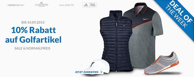 Engelhorn Golfartikel 10% Rabatt auf Golfartikel bei engelhorn + 5€ Gutschein ab 80€