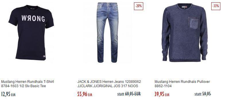 Fashion Sale Tom Tailor Herren Chino Hose für 39,95€ im Jeans Direct Final Summer Sale mit bis zu 75% Rabatt