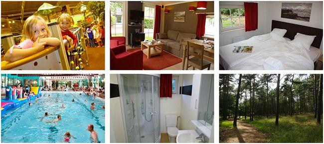 4 5 Tage Ferienpark in Belgien in einem luxuriösen Bungalow für 4 Personen ab 179€