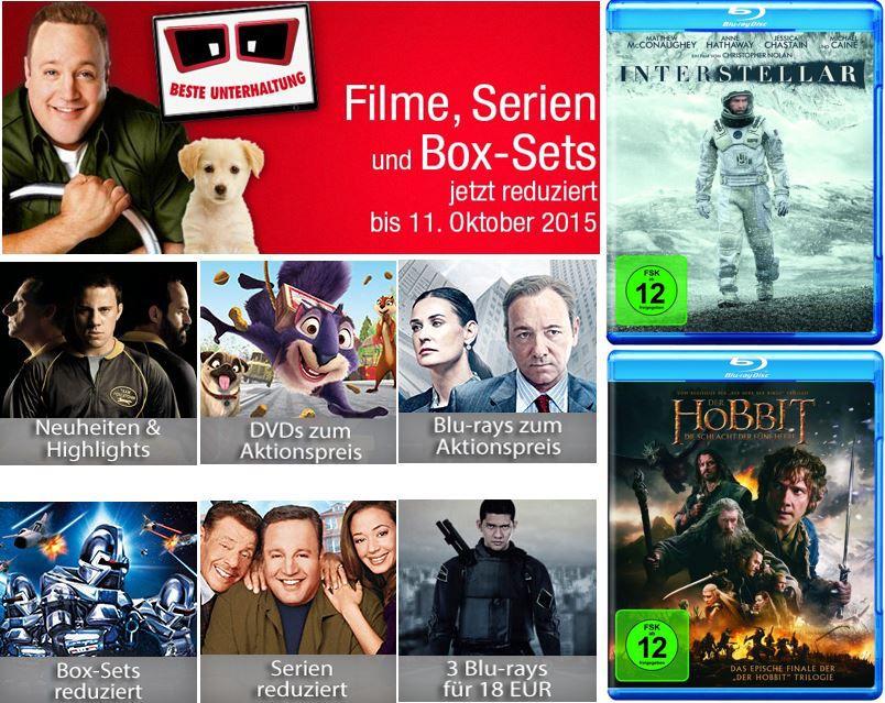 Beste Unterhaltung reduziert und mehr neue Amazon DVD und Blu ray Aktionen