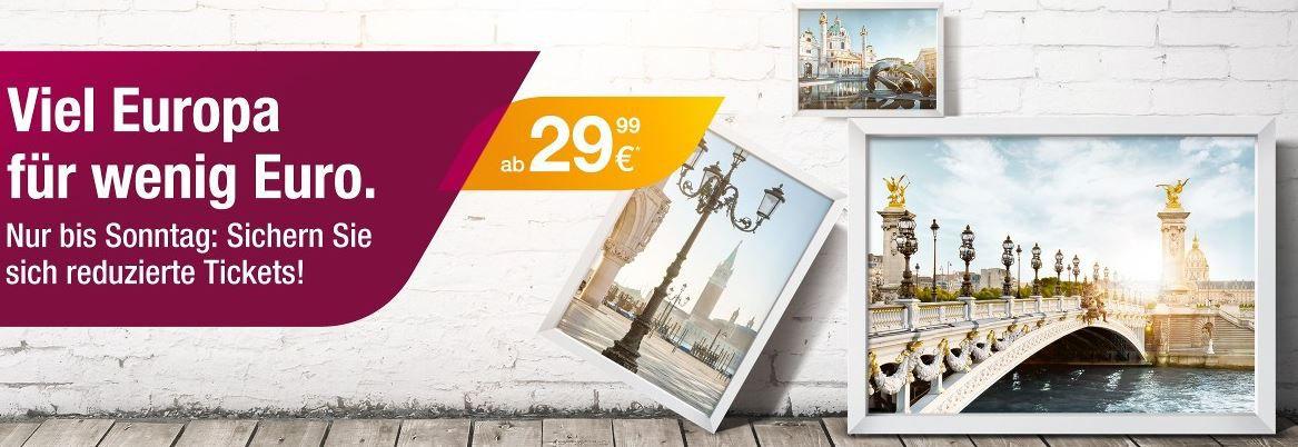 Germanwings mit reduzierten Tickets ab 29,99€ z.B. Düsseldorf nach Mailand