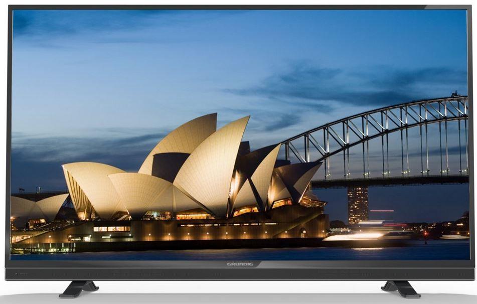 Grundig 49 VLE 841 BL   49 Zoll 3D smart TV mit triple Tuner für 439,90€