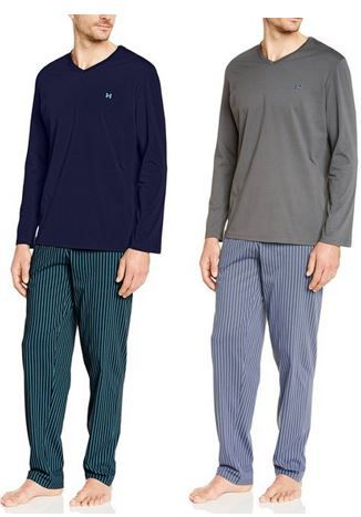 Preisfehler? HOM Philadelphie Long Sleepwear   Herren Schlafanzug ab 12,99€