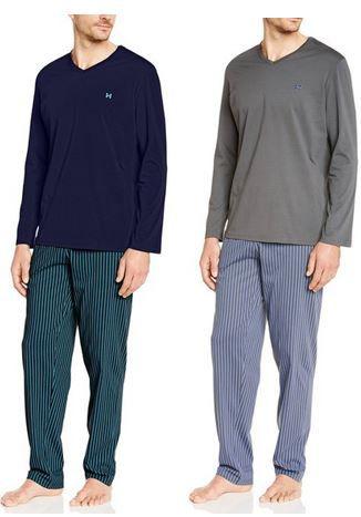 HOM Preisfehler Preisfehler? HOM Philadelphie Long Sleepwear   Herren Schlafanzug ab 12,99€