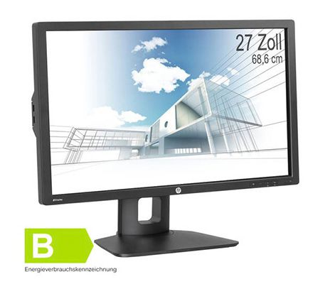 HP Z27i   27 Zoll WQHD Monitor mit IPS Panel für 460,35€
