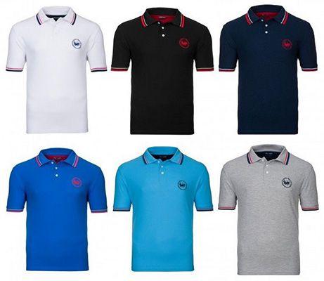 Harvey Miller Poloshirts in verschiedenen Farben für je 8,46€