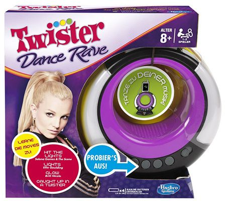 Hasbro A2975100 Twister Rave Dance Hasbro A2975100 Twister Rave Dance ab 7,65€