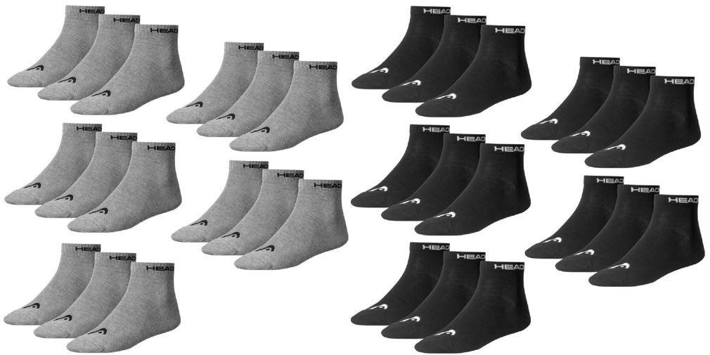 15 Paar Head Quarter Socken (39 42) für 15,95€ (statt 20€)